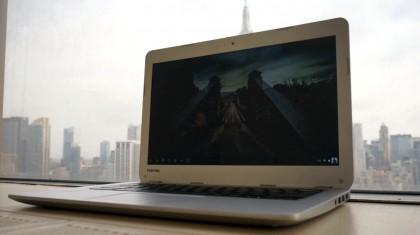 Toshiba Chromebook review
